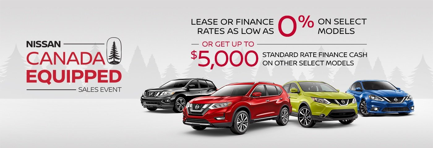 Nissan Equipped Sales Event