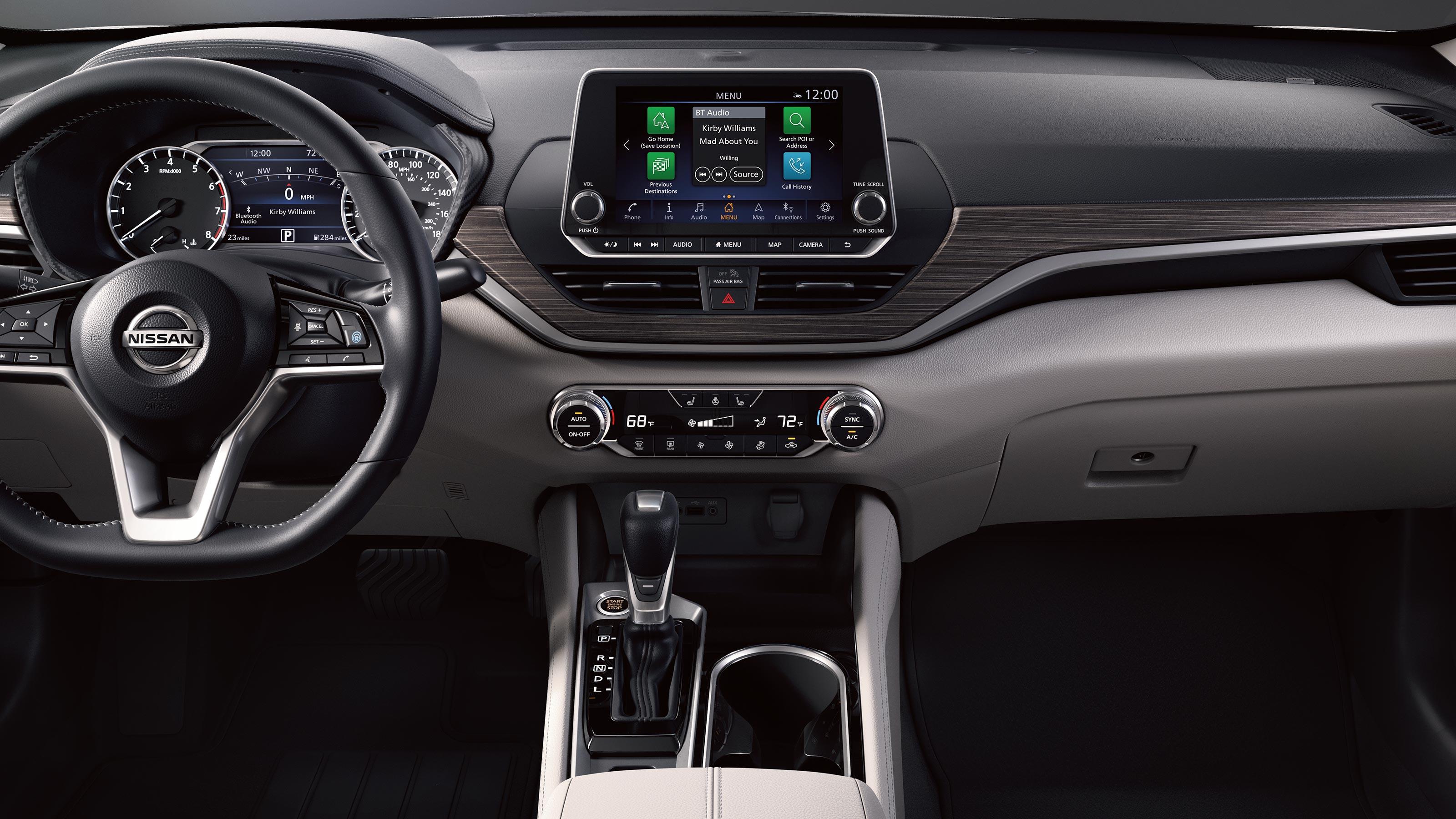 2020 Nissan Altima Interior Design